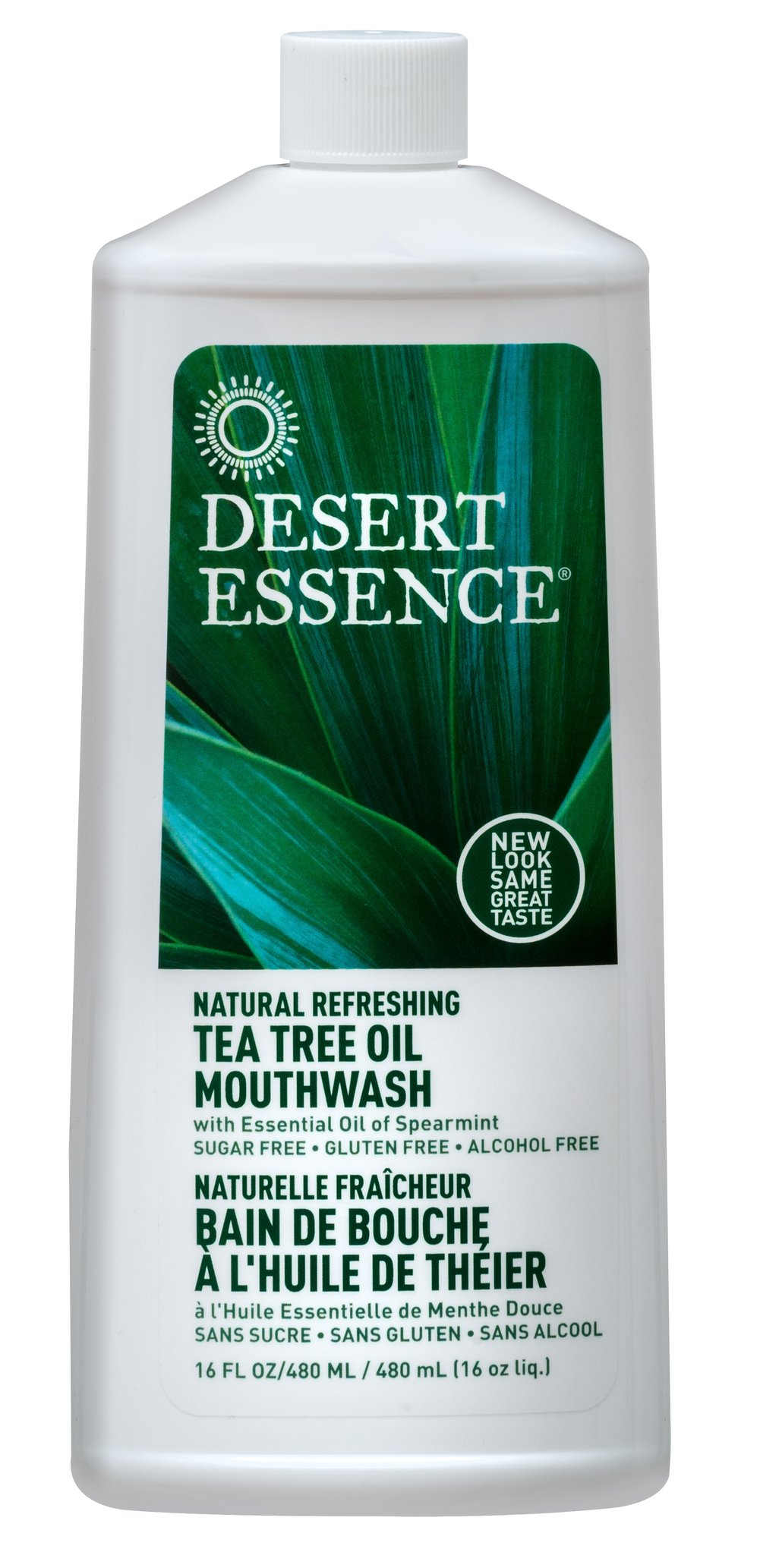 Tea Tree Oil Mouthwash With Spearmint