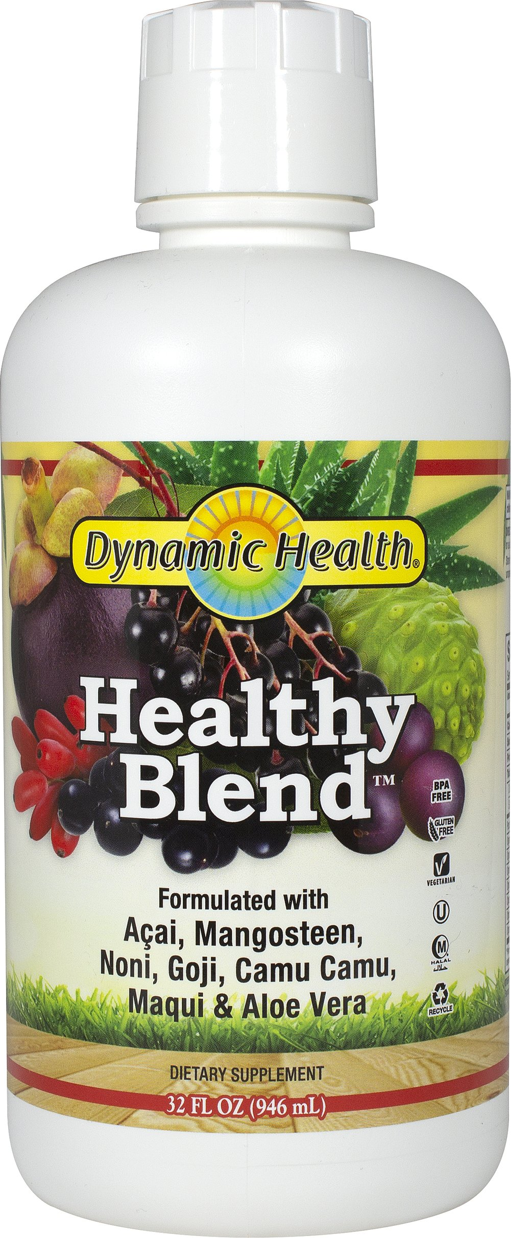 Healthy Blend Superfruit Juice with Camu Camu Thumbnail Alternate Bottle View