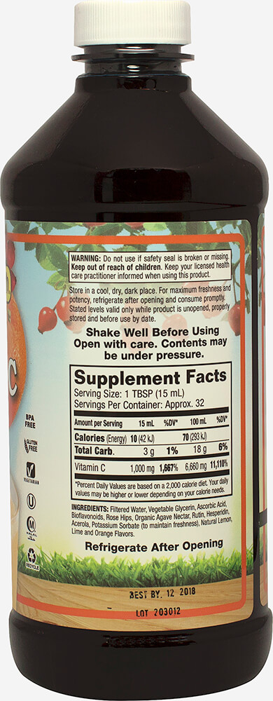 Liquid Vitamin C 1000 mg