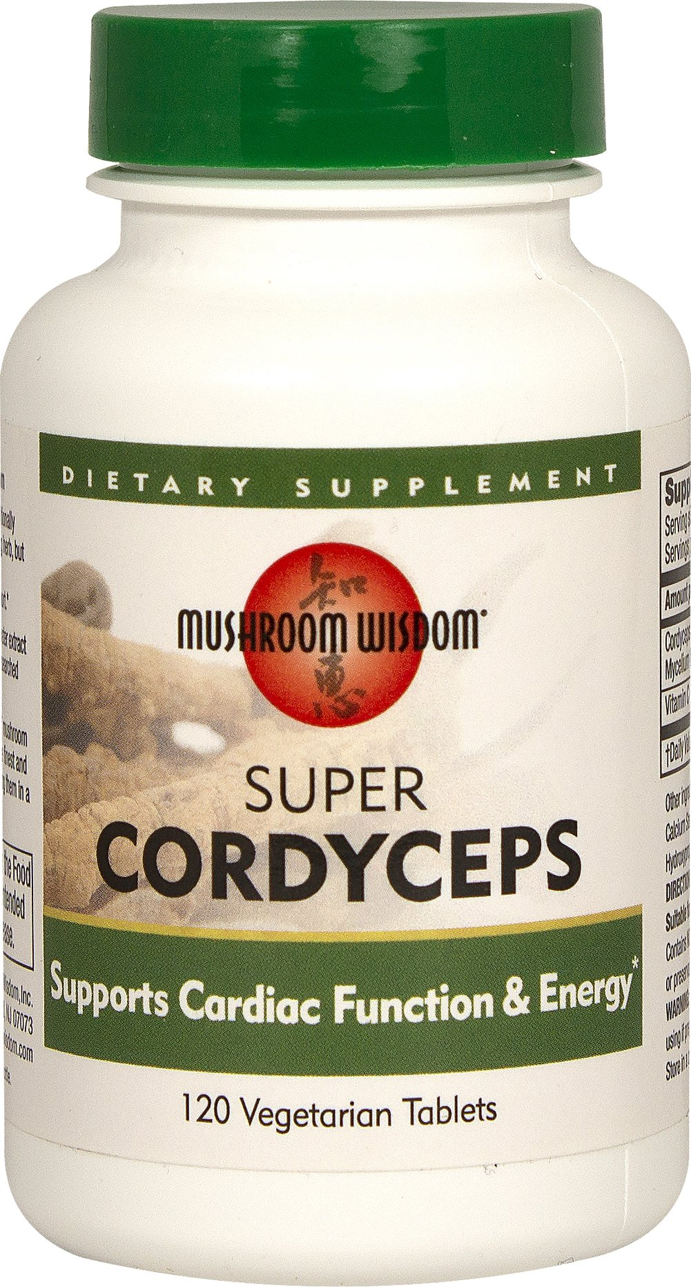 Super Cordyceps Thumbnail Alternate Bottle View