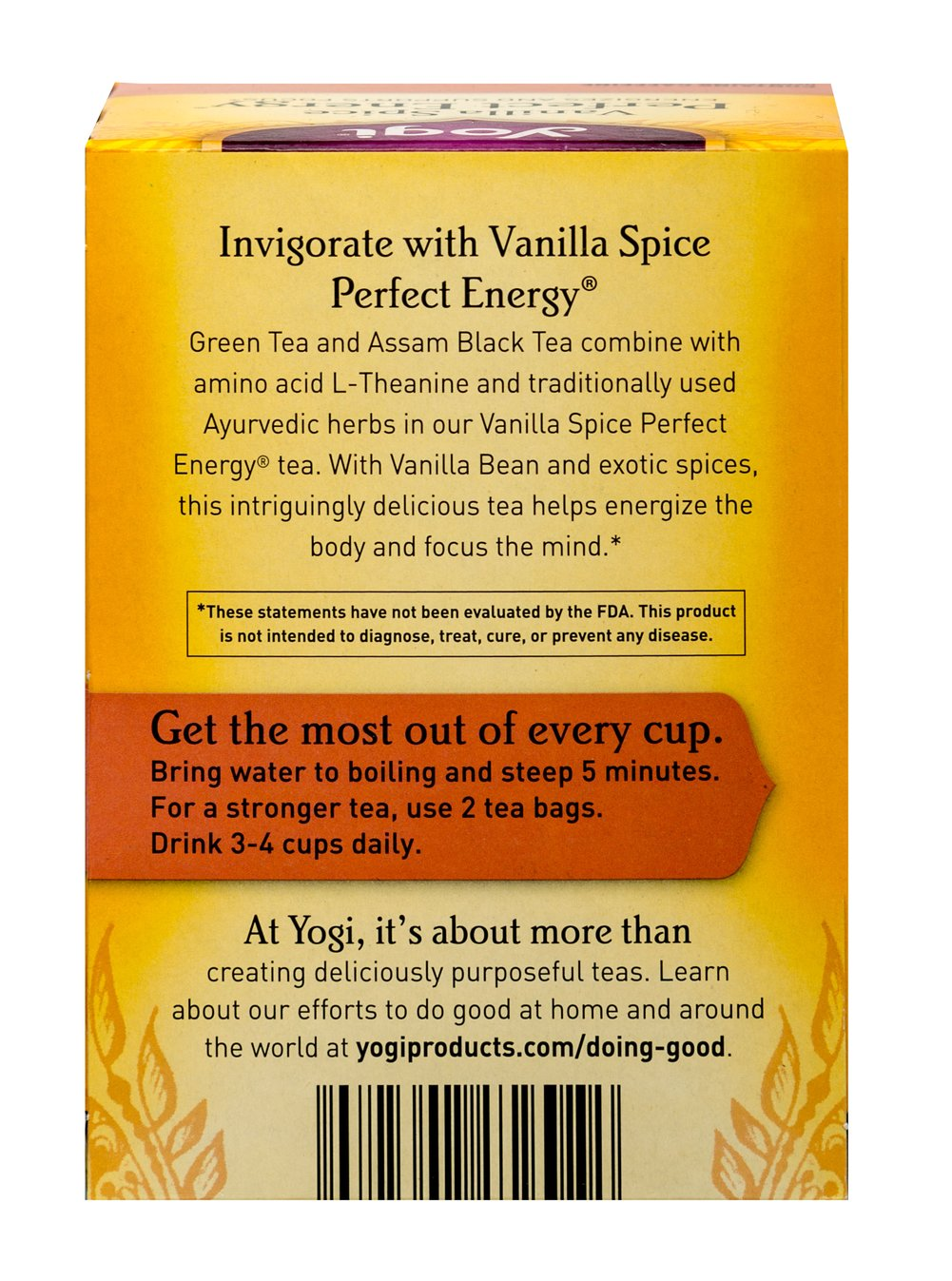 Vanilla Spice Perfect Energy™Tea