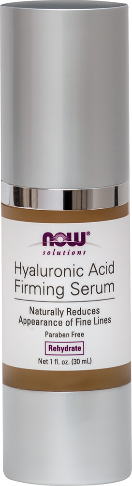 NOW Hyaluronic Acid Firming Serum