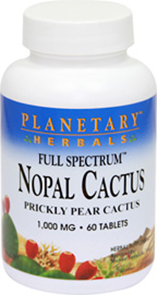 Full Spectrum Nopal Prickly Pear Cactus 1000 mg
