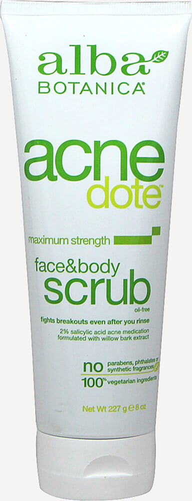 Alba Acne Dote Face & Body Scrub