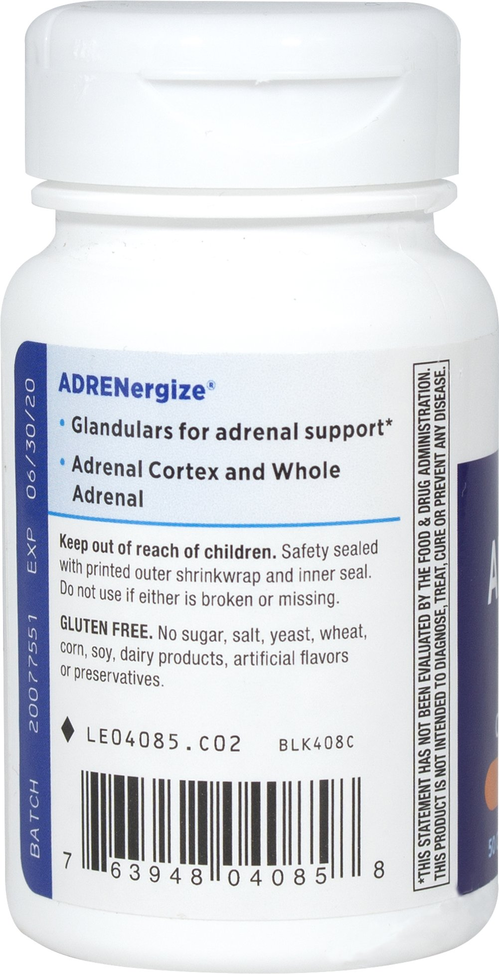 ADRENergize® Adrenal Gland Support**
