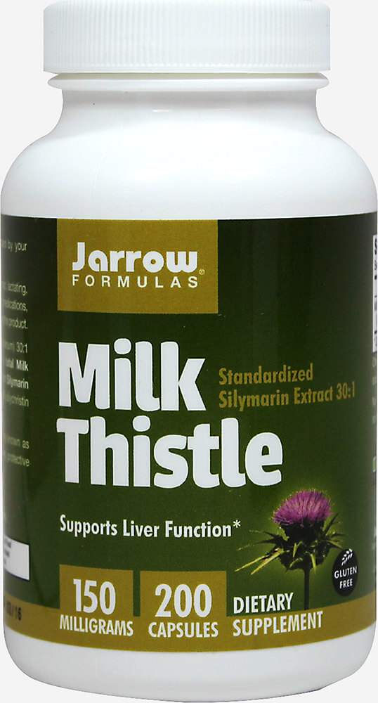 Milk Thistle Standardized 150 mg