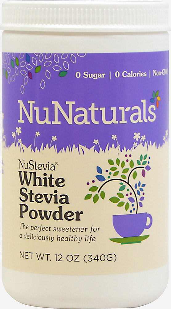 NuStevia White Stevia Powder 12 oz