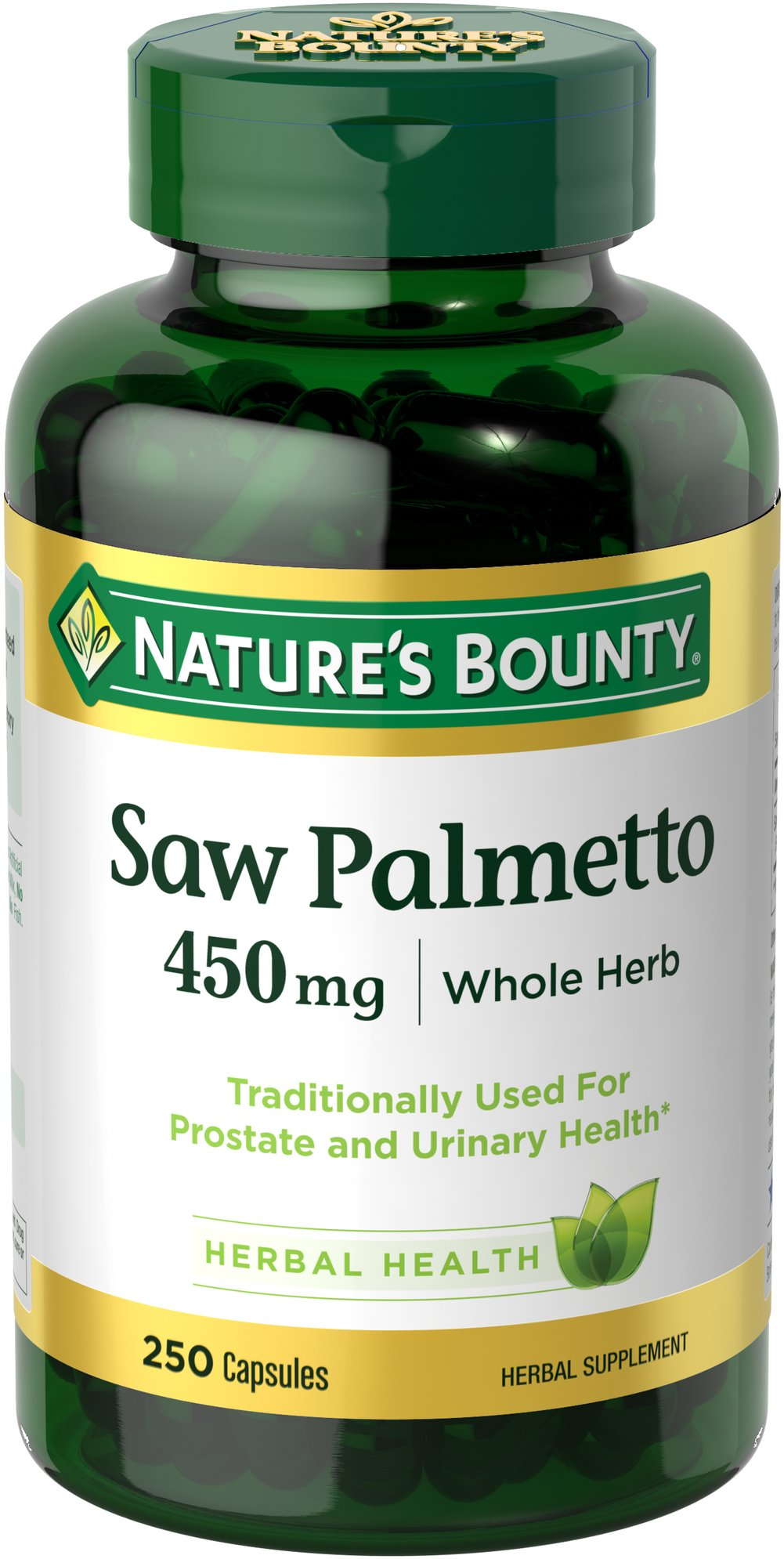 Nature's Bounty® Saw Palmetto 450 mg