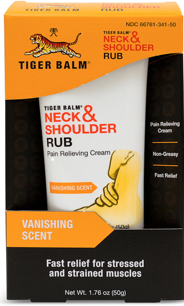 Tiger Balm® Neck & Shoulder Rub