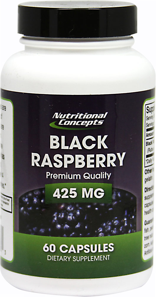 Black Raspberry 425 mg