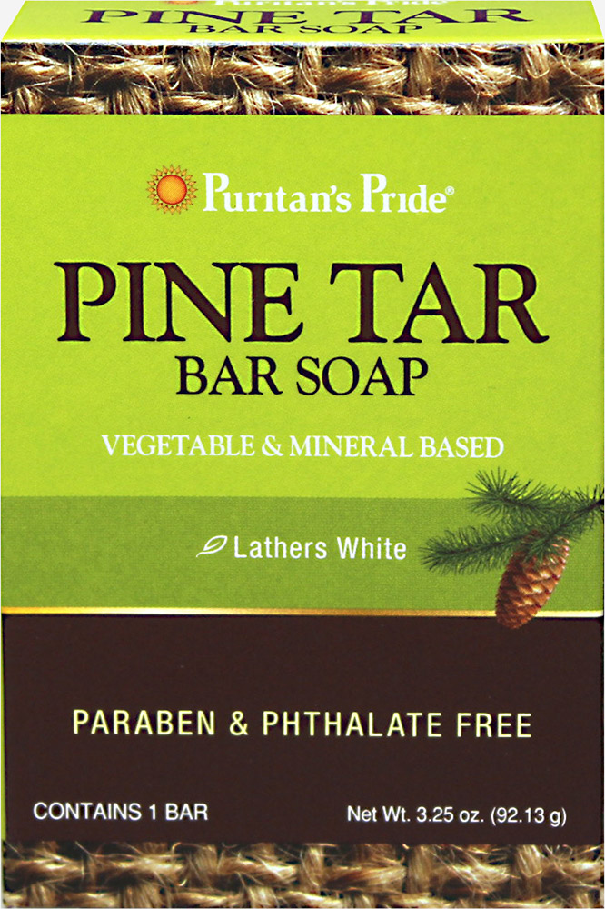Pine Tar Bar Soap Thumbnail Alternate Bottle View