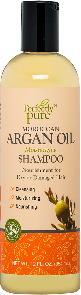 Moroccan Argan Oil Shampoo Thumbnail Alternate Bottle View