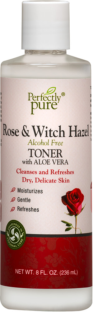 Rose & Witch Hazel Toner Thumbnail Alternate Bottle View