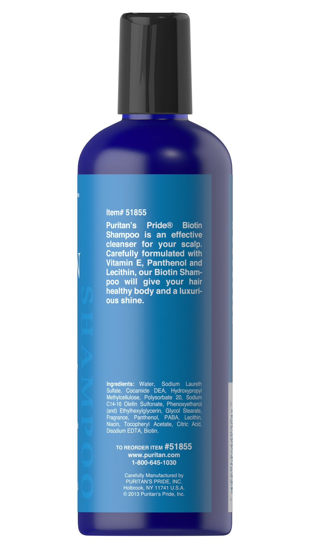 Biotin Shampoo Thumbnail Alternate Bottle View