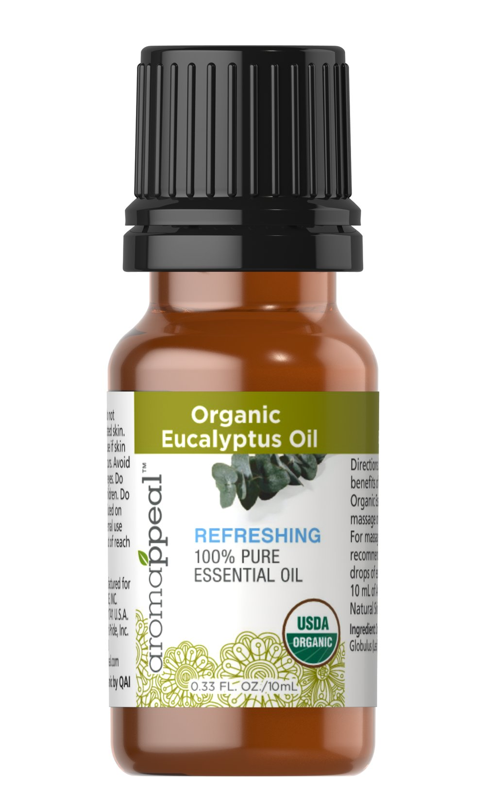 Organic Eucalyptus 100% Pure Essential Oil