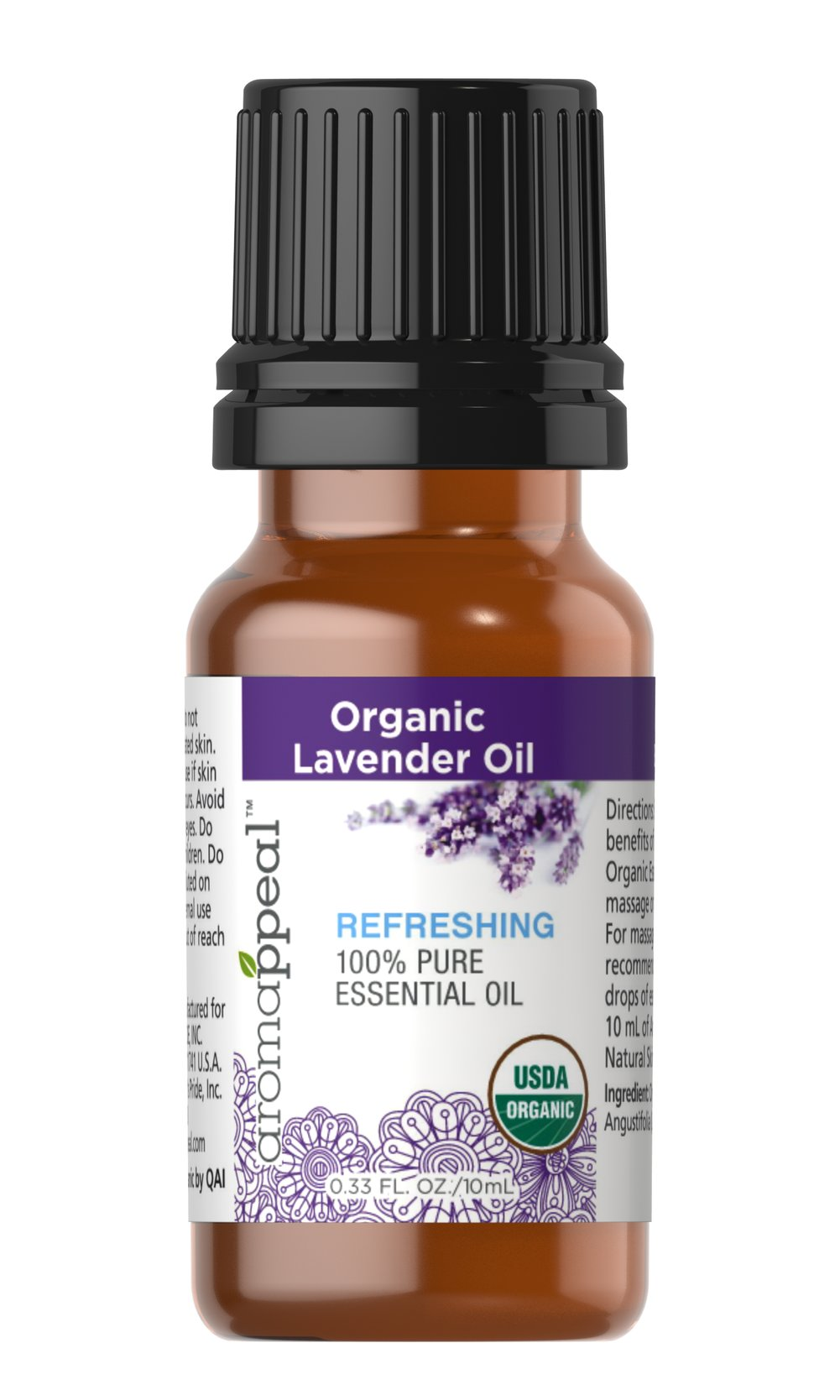 Organic Lavender 100% Pure Essential Oil