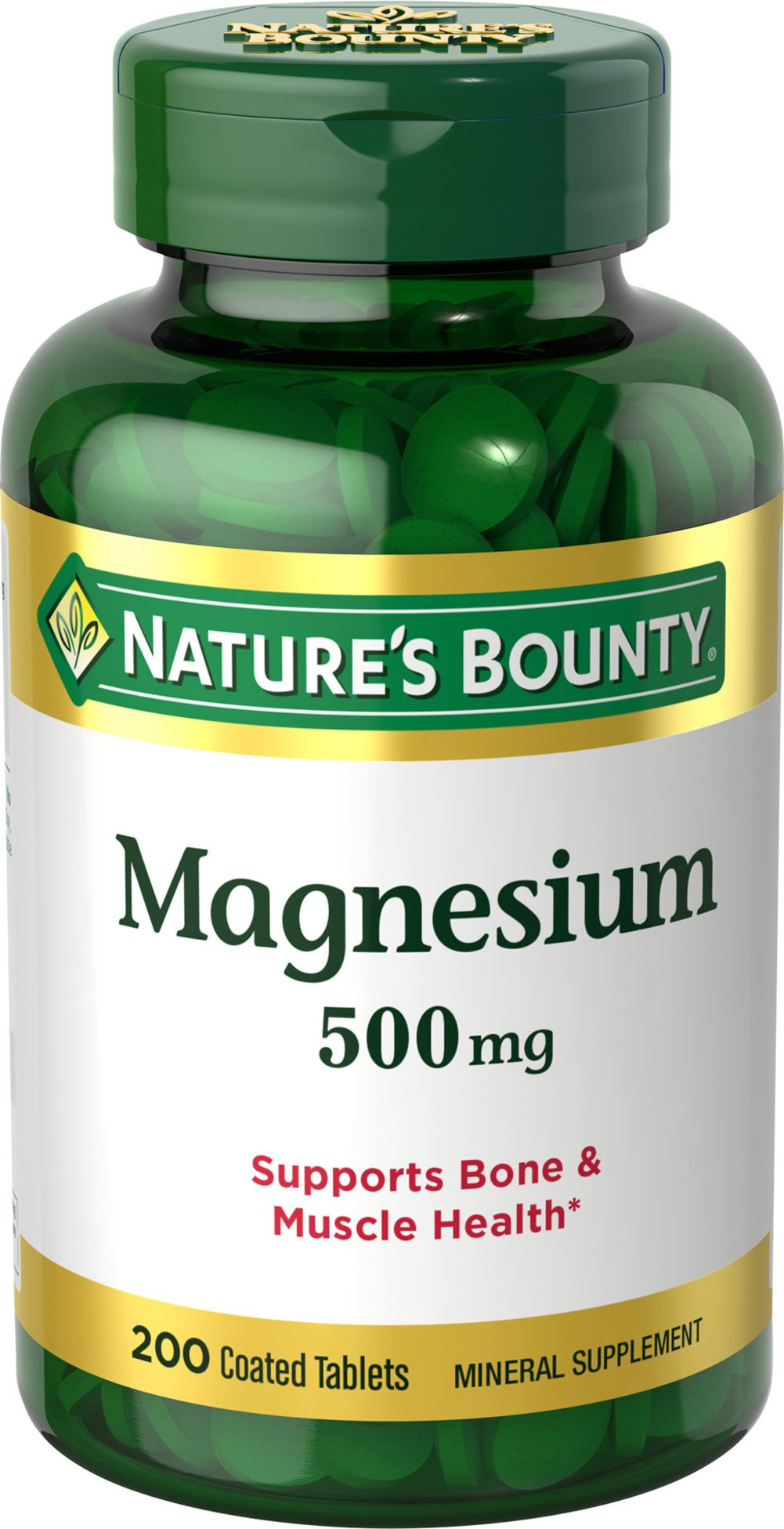 Nature's Bounty® Magnesium 500 mg