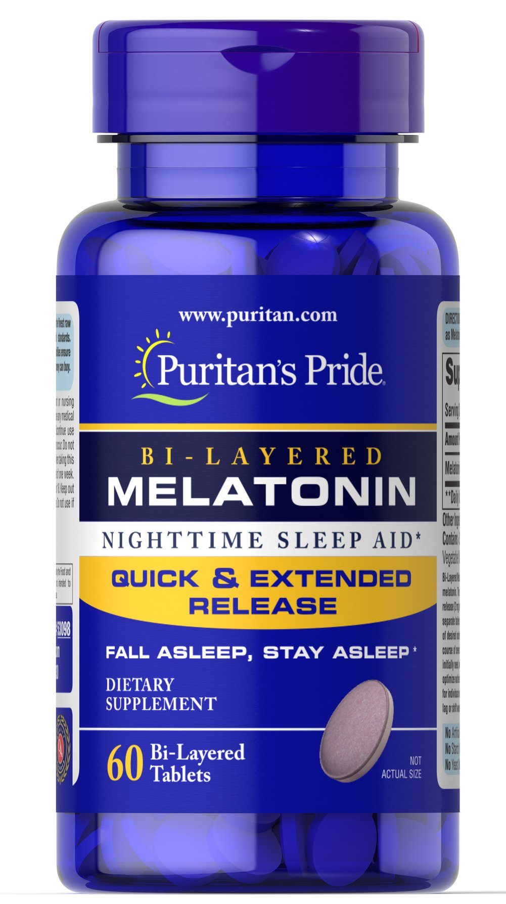Bi-Layered Melatonin 5 mg
