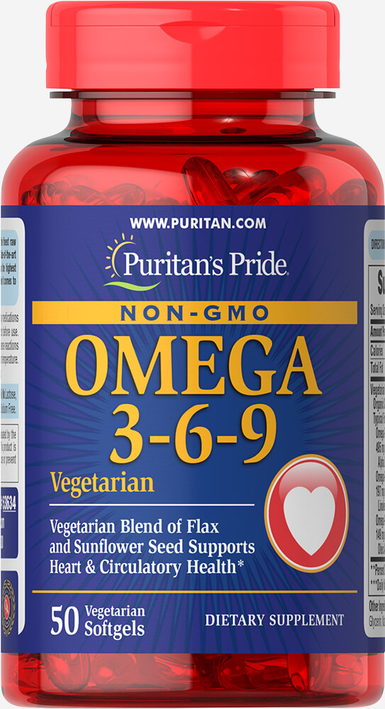 Omega 3-6-9 Vegetarian and Non-GMO