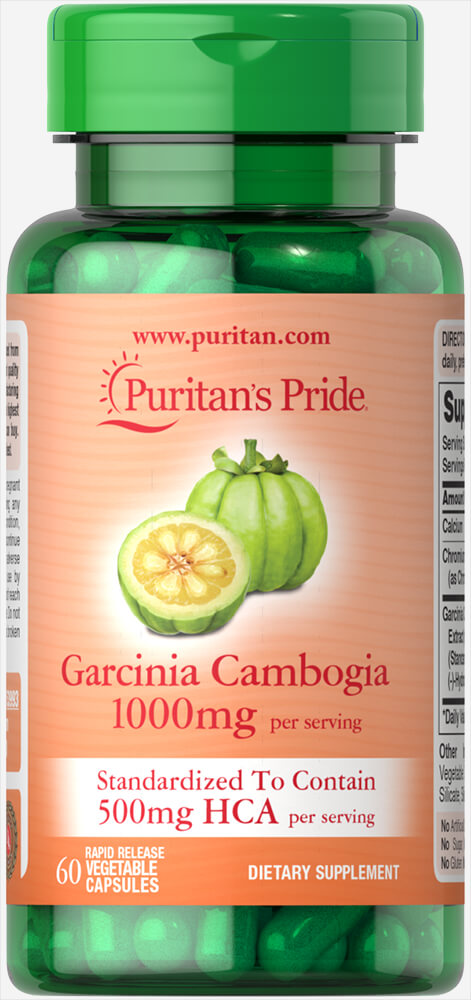 Garcinia Cambogia 500mg Thumbnail Alternate Bottle View