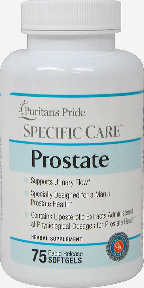 Specific Care™ Prostate Thumbnail Alternate Bottle View
