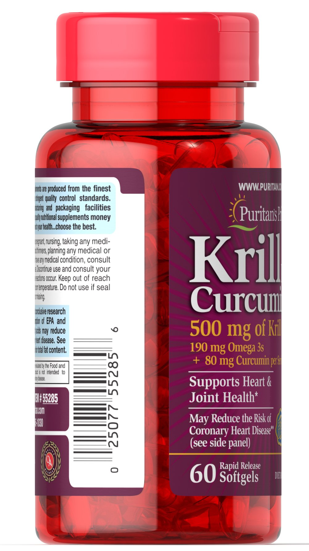 Krill Plus Curcumin 95 mg Active Omega-3