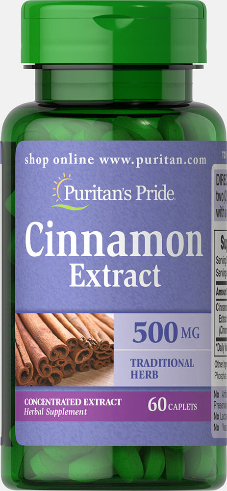 Cinnamon 500mg 4:1 Extract Thumbnail Alternate Bottle View