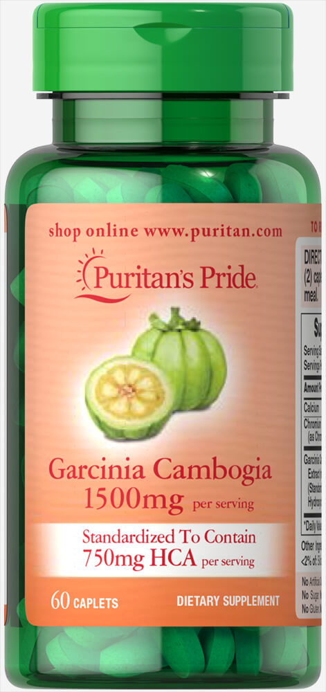 Garcinia Cambogia 750 mg Thumbnail Alternate Bottle View