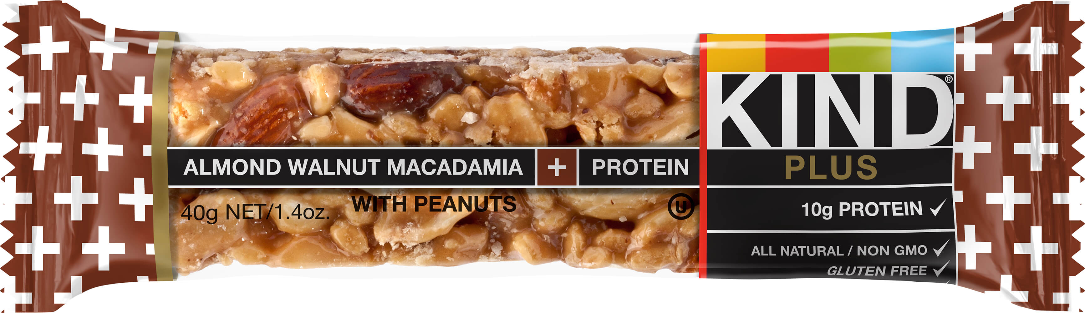 KIND Plus Cranberry Almond + Antioxidants with Macadamia Nuts Thumbnail Alternate Bottle View