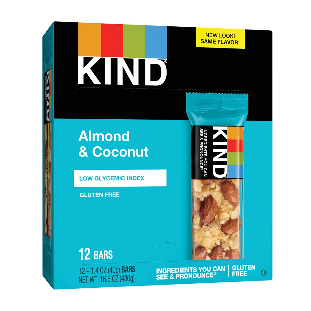 KIND Fruit & Nut Almond & Coconut Thumbnail Alternate Bottle View