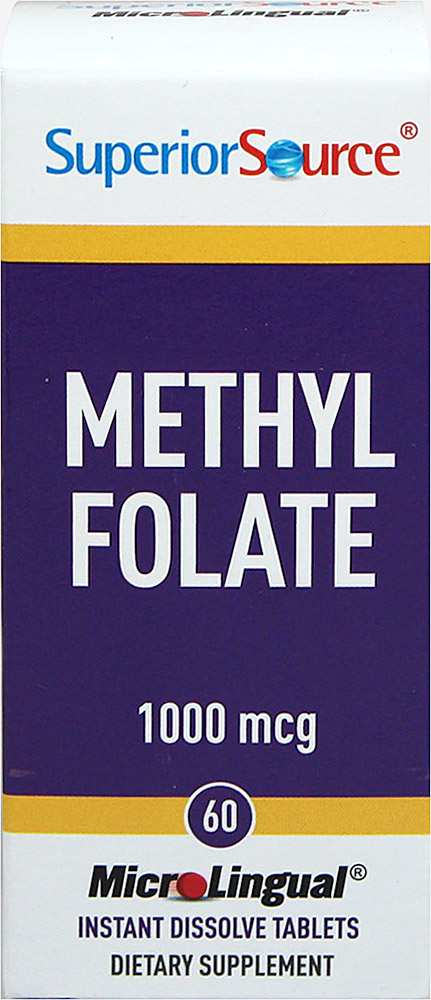 Methyl Folate 1000 mcg Instant Dissolve Tablets