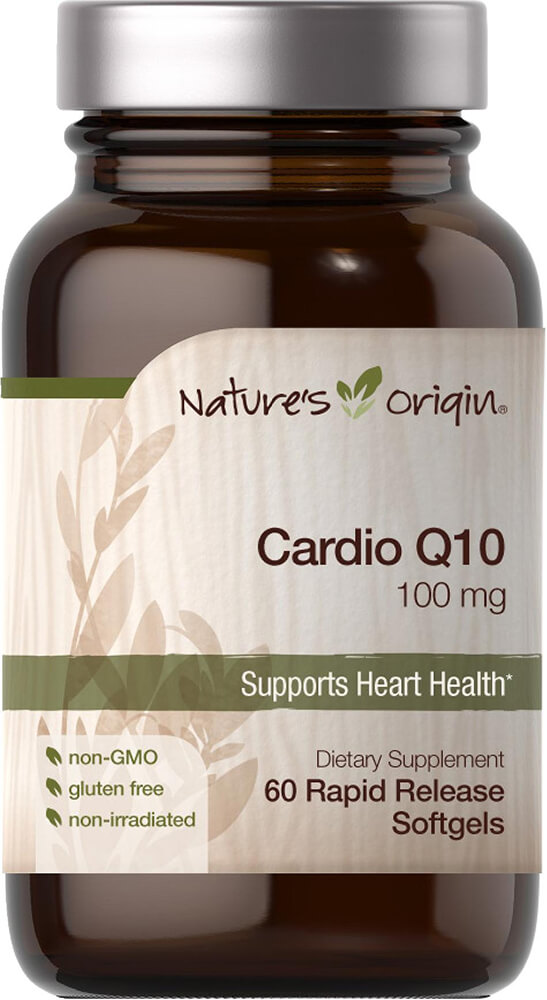 Cardio Q10 100 mg Thumbnail Alternate Bottle View
