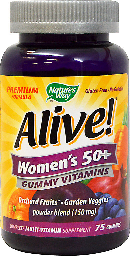 Alive!® Women's 50+ Gummy Multi Vitamin