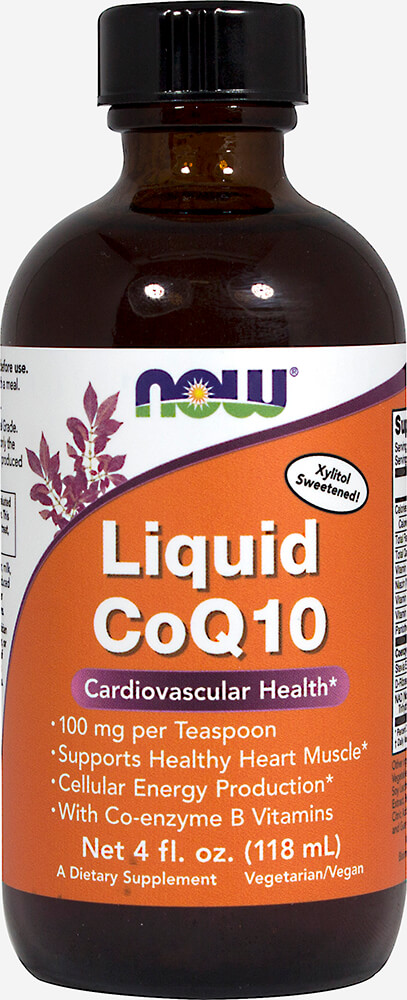 Liquid CoQ10 - Orange Flavor Thumbnail Alternate Bottle View