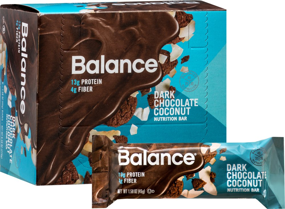 Dark Chocolate Coconut Balance Bar Thumbnail Alternate Bottle View