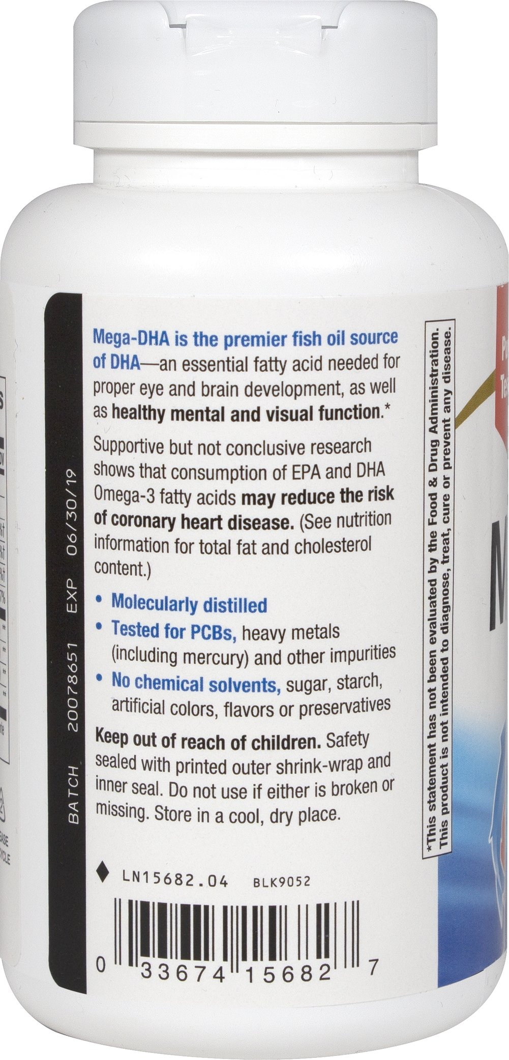 Mega-DHA High Potency Fish Oil 1000 mg