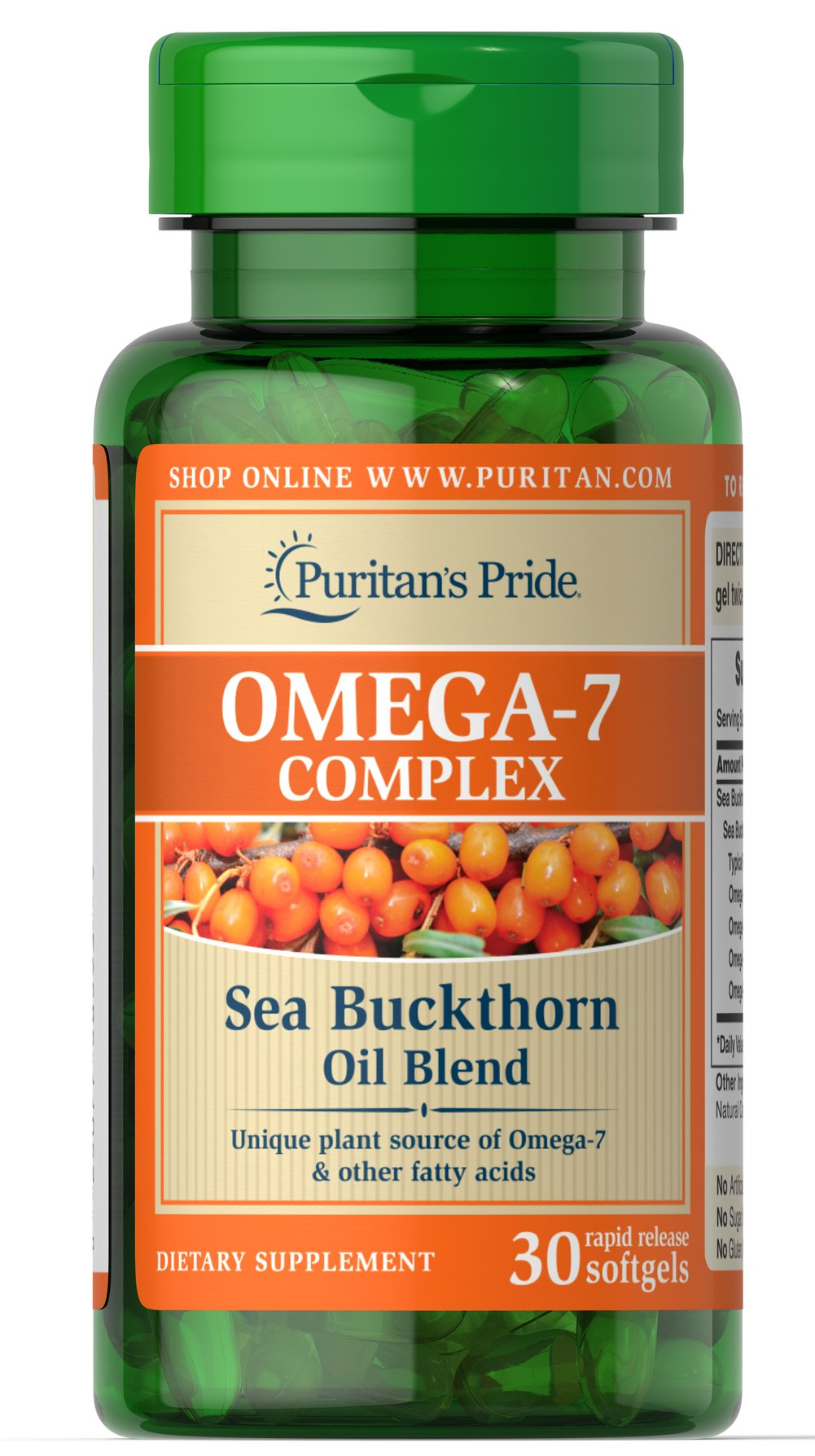 Omega-7 Complex Sea Buckthorn Oil Blend