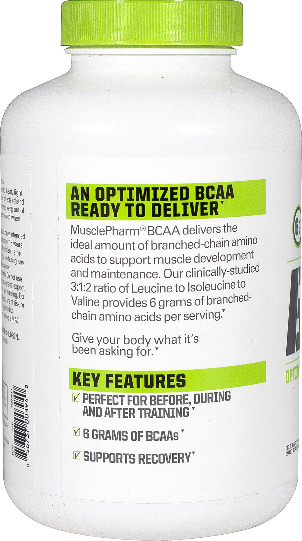 BCAA Thumbnail Alternate Bottle View