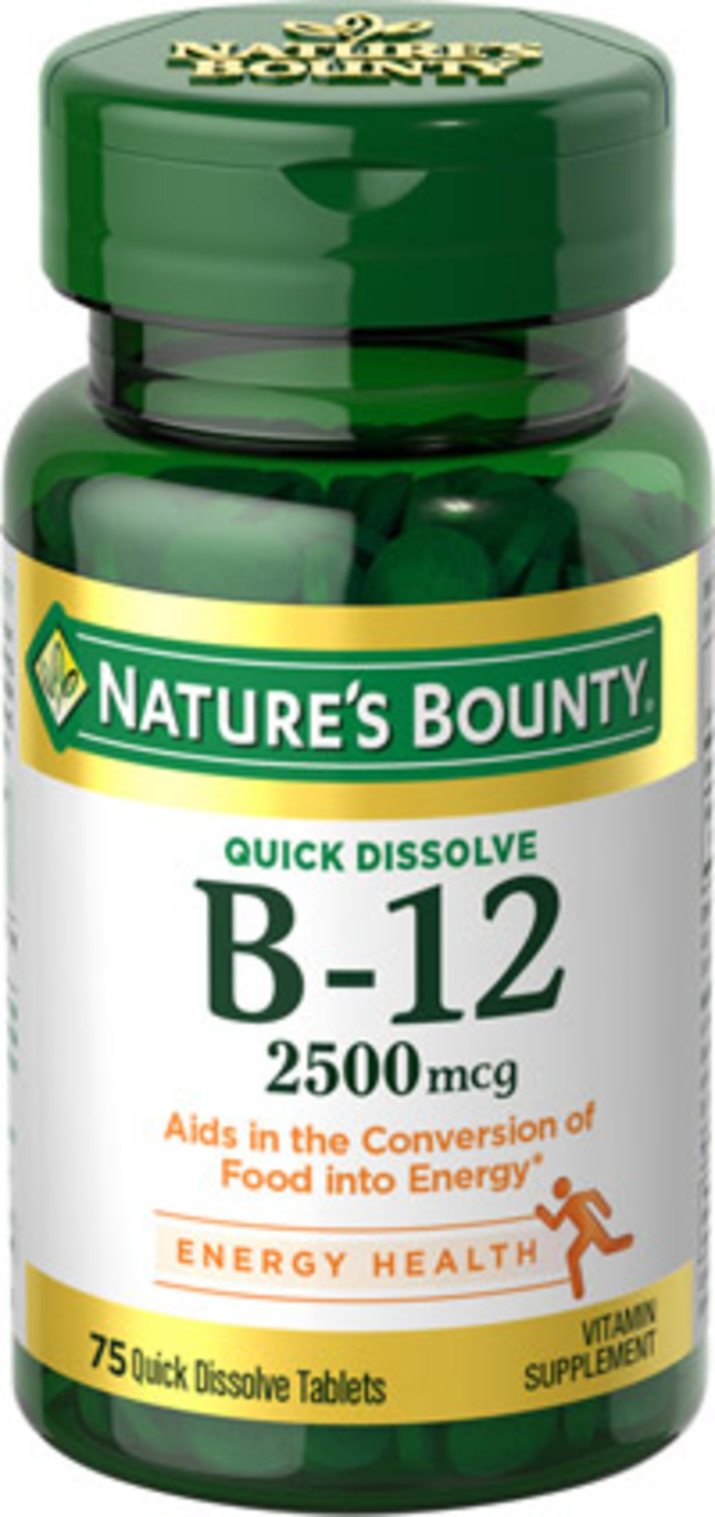 Nature's Bounty® Quick Dissolve B12 2500 mcg