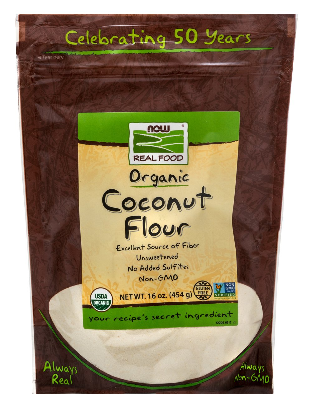 Organic Coconut Flour Thumbnail Alternate Bottle View