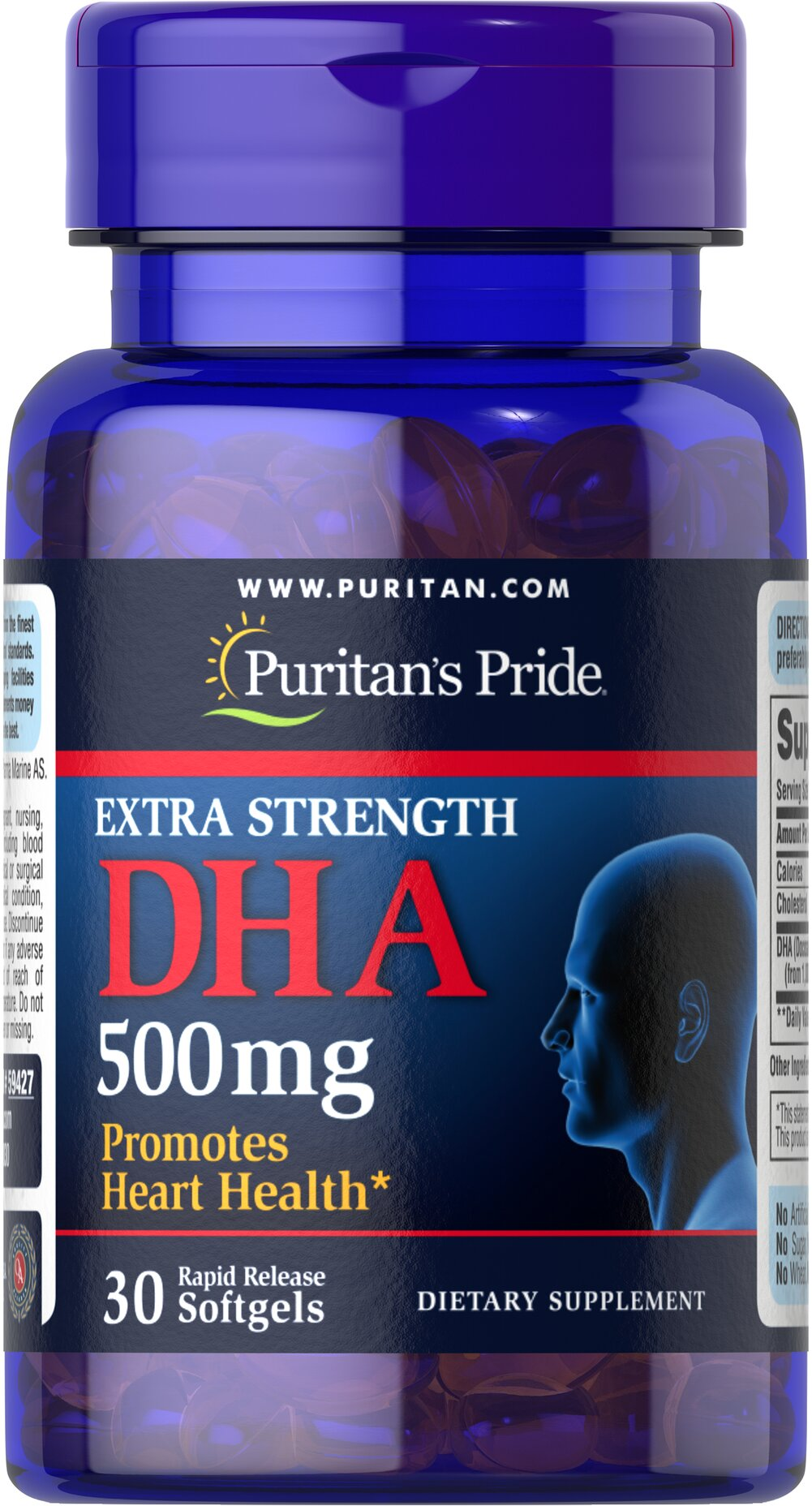 Extra Strength DHA 500 mg