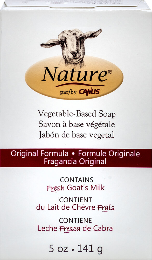 Fresh Goat's Milk Soap Thumbnail Alternate Bottle View