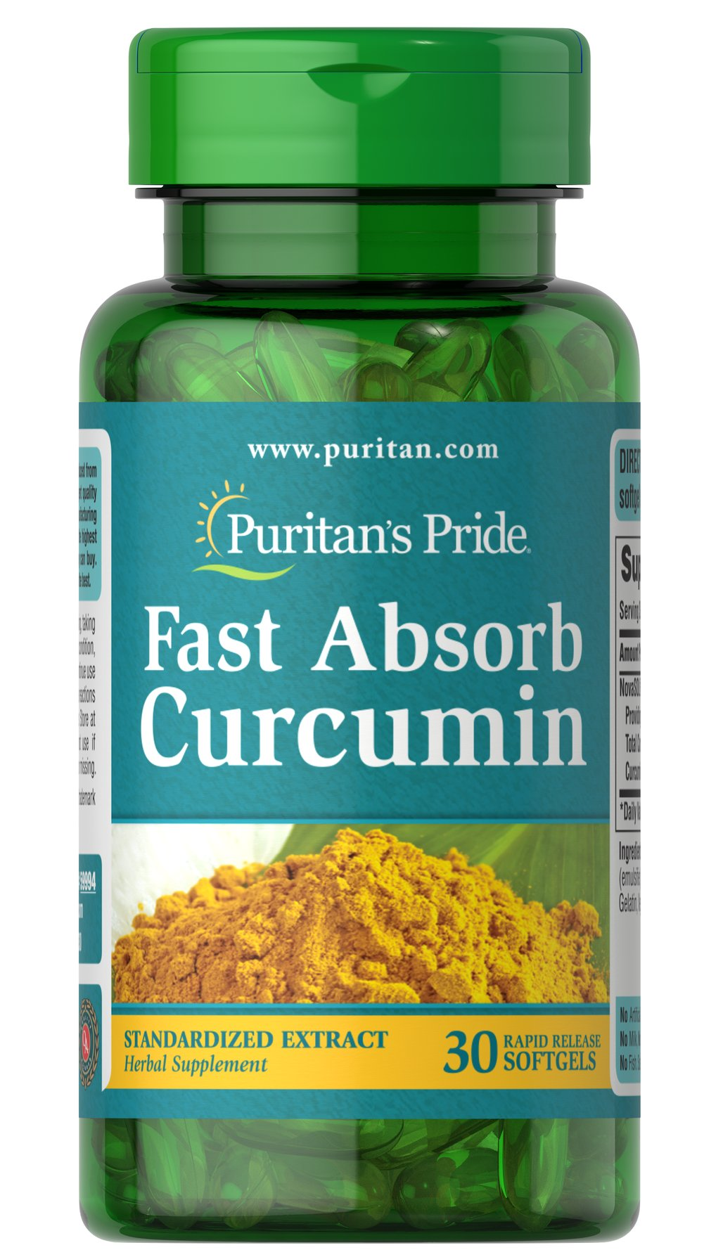 Fast Absorb NovaSOL® Curcumin Thumbnail Alternate Bottle View