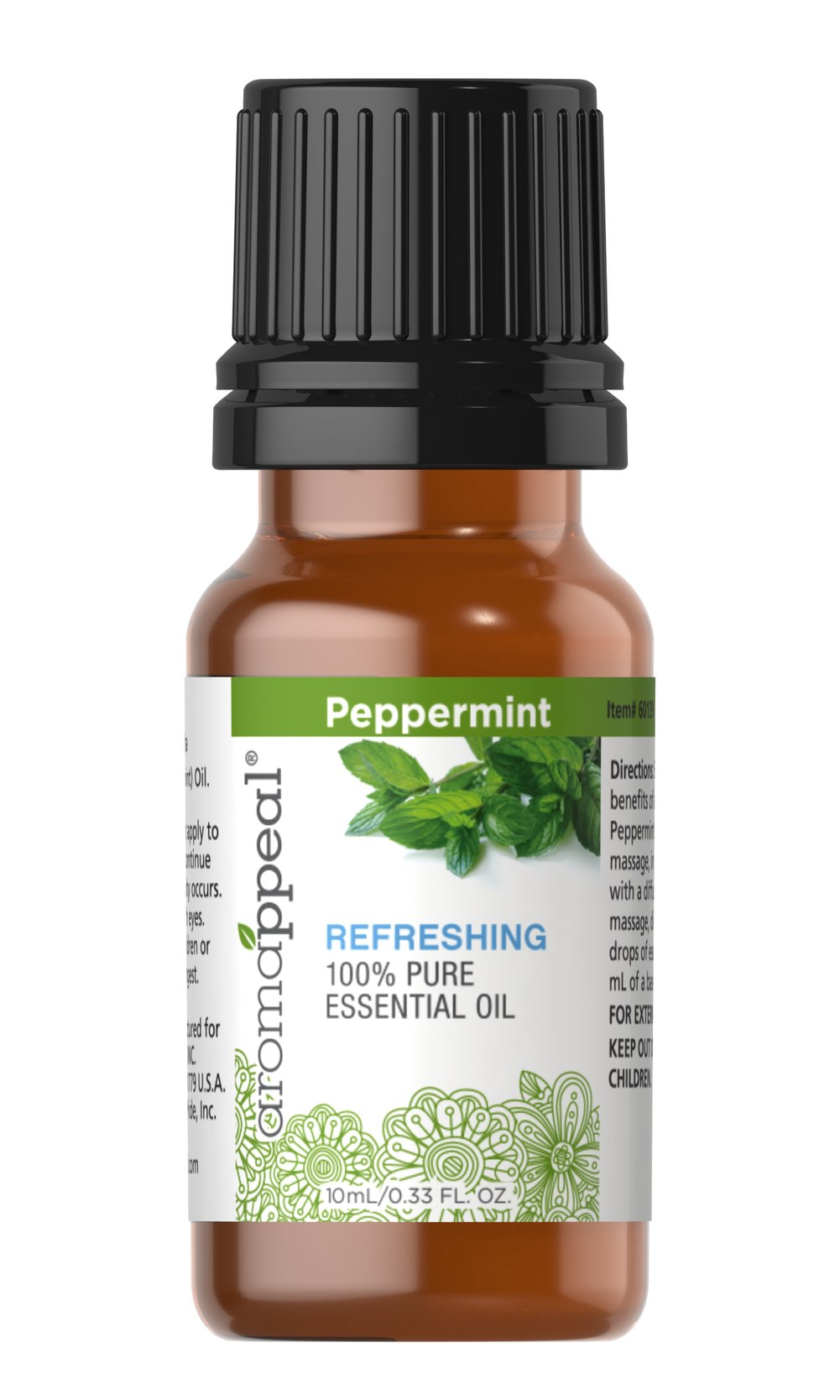 Peppermint 100% Pure Essential Oil Thumbnail Alternate Bottle View