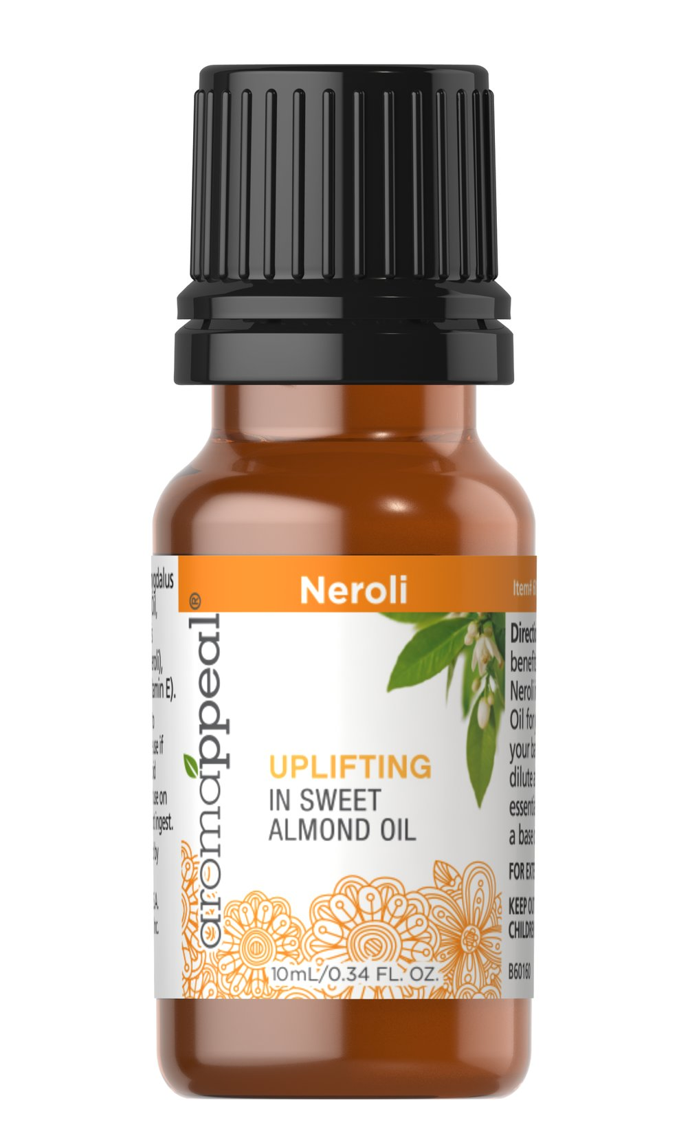 100% Pure Neroli in Sweet Almond Oil Blend
