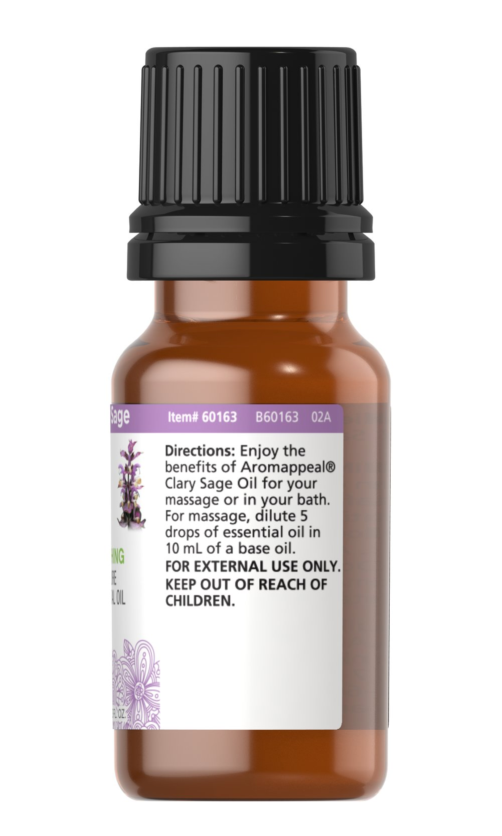 Clary Sage 100% Pure Essential Oil