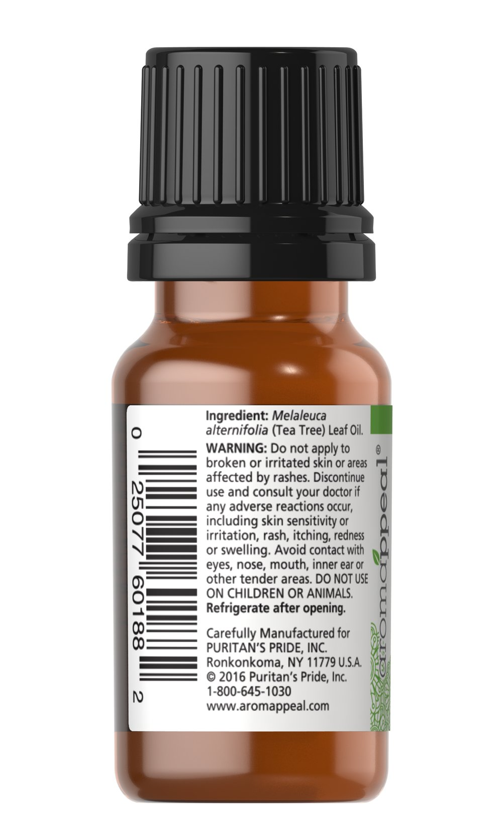 Tea Tree 100% Pure Essential Oil Thumbnail Alternate Bottle View