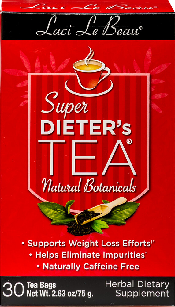 Super Dieter's Tea Original Thumbnail Alternate Bottle View