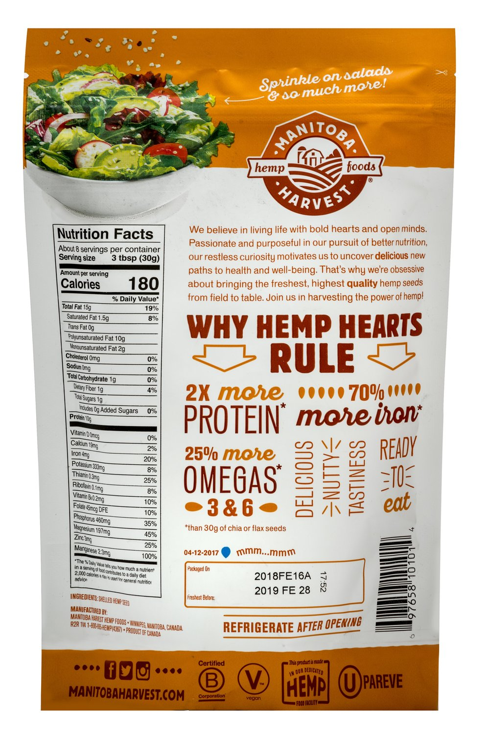 Natural Hemp Hearts
