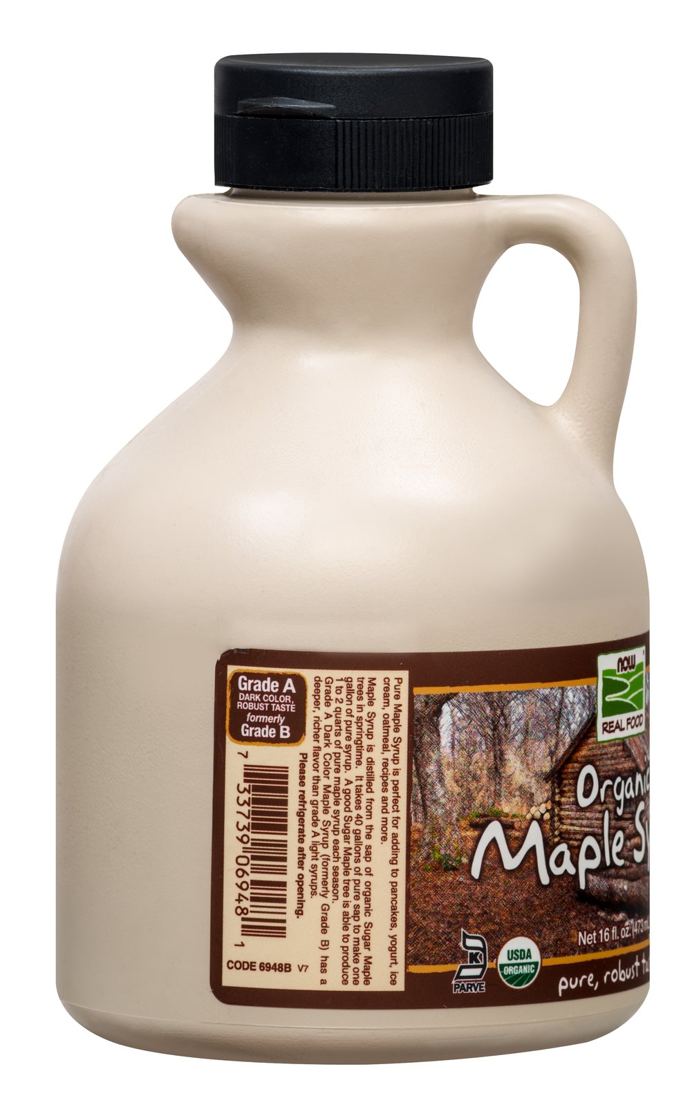 Organic 100% Pure Maple Syrup